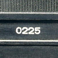 Series One serial number